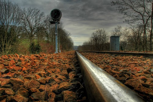 Railroad to nowhere...