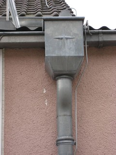 Downpipe in Lampertheim (Germany)