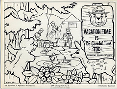 1000 images about kids coloring pages on pinterest dr for Free smokey the bear coloring pages