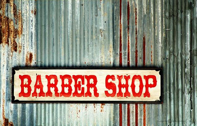 Barber Shop Sign Flickr - Photo Sharing!