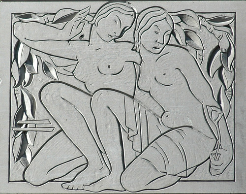 Art Deco Gemini