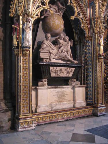 Newton's Grave - Westminster Abbey