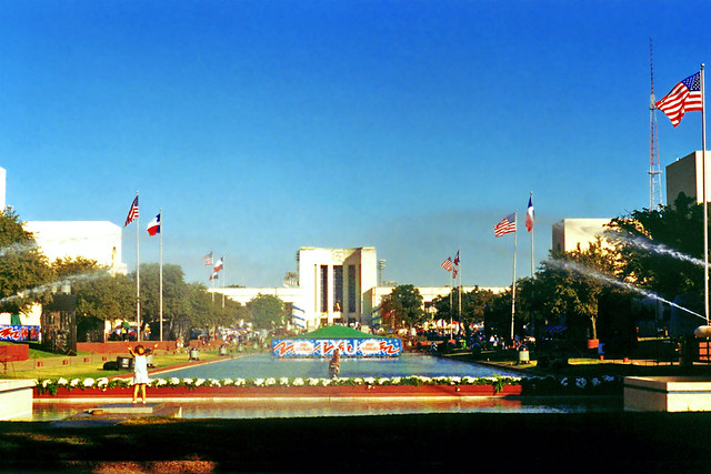 Reflecting Pool, Fair Park, Dallas