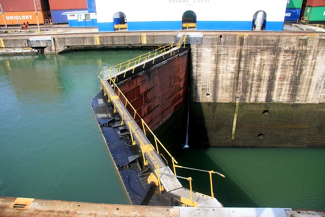 Photo:One of the Gatun Locks at the Panama Canal By:gailf548