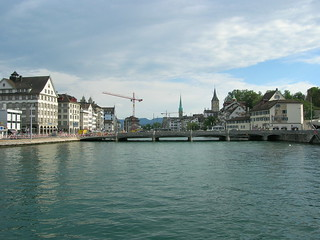 Zurich from the river