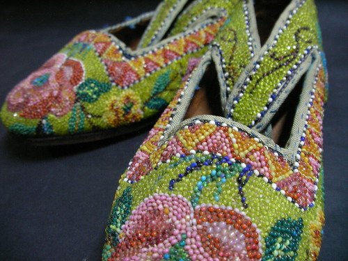 Kasut Manek (Beaded Shoes)