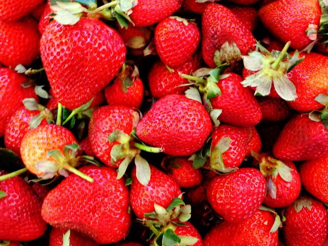 ¡A la rica fresa!