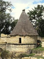 thatching, hut, rural area,