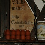 Gluhwein Stall at Medieval Christmas Market - Dresden, Germany