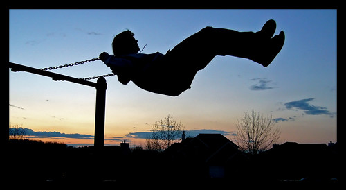 Sunset Swinging.