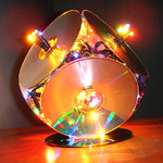 The incredible christmas CD-lamp