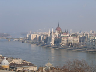 The Parliament from Buda