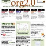 Free one-pager for non profits (org2.0) by Seth Godin