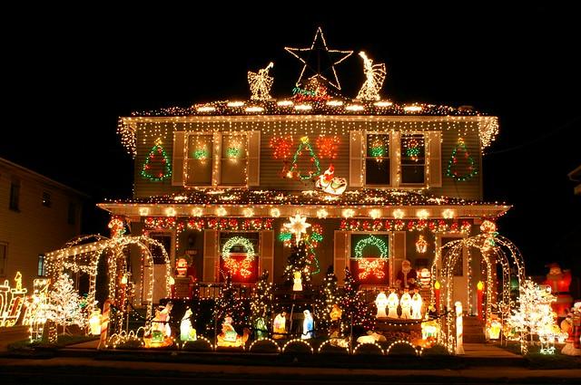 Decorated Christmas Houses Halifx