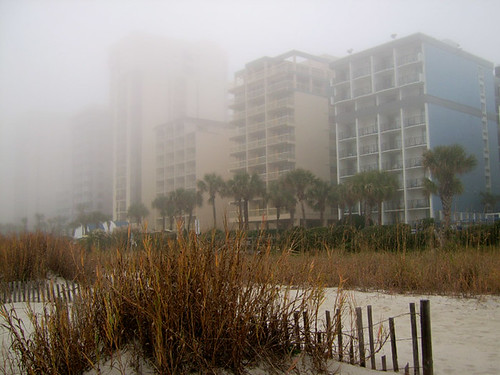 Let there be fog. Myrtle Beach, SC