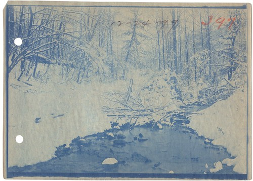 Christmas Eve 1899 - Creek and snow