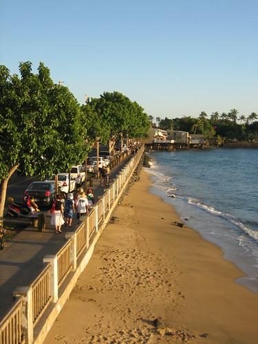 Lahaina waterfront