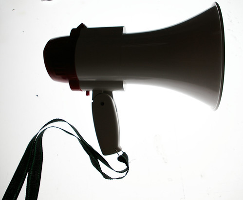 This is not a social media megaphone