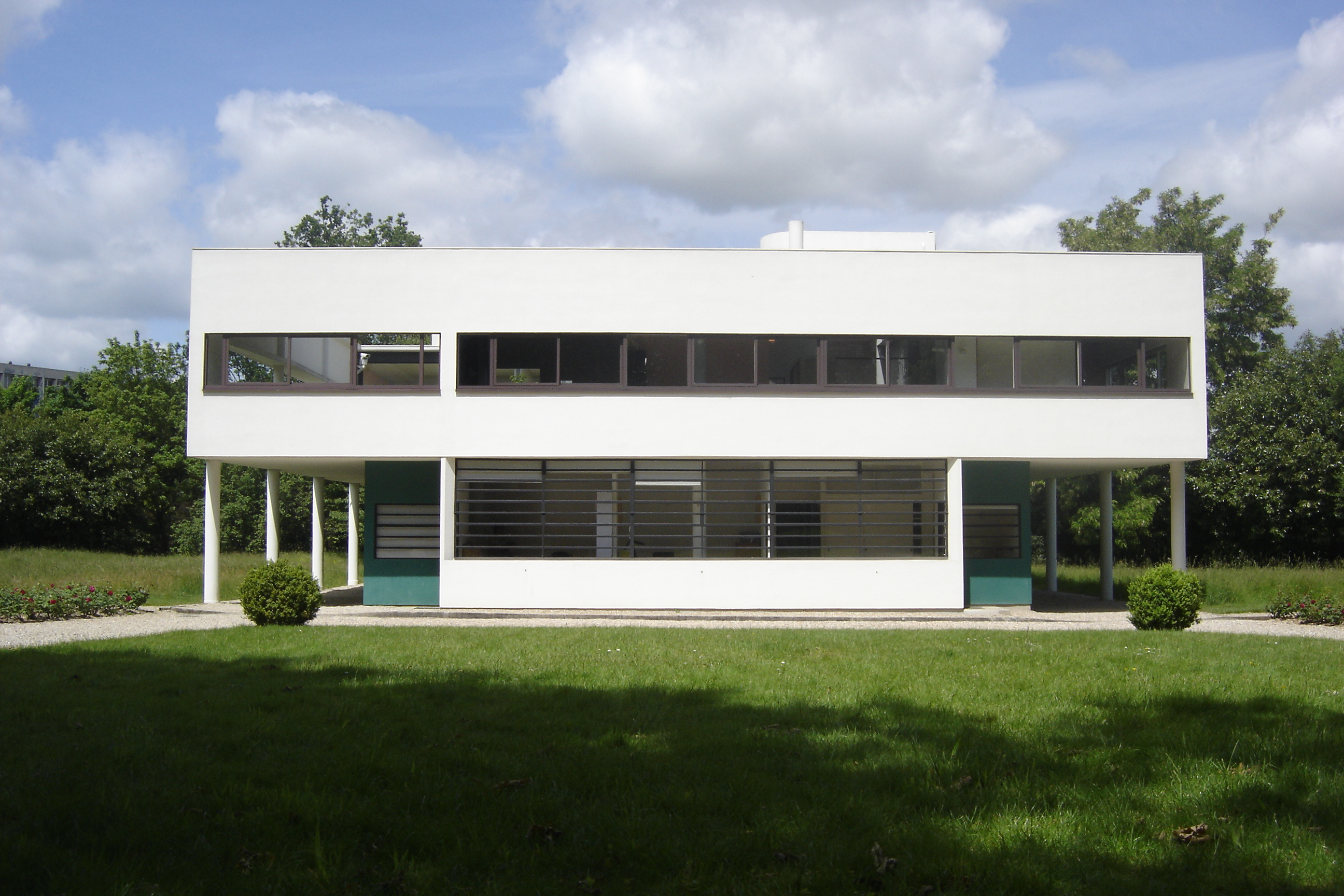 Villa savoye le corbusier flickr photo sharing for Poissy le corbusier