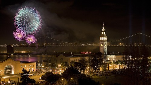 NEW YEARS IN SAN FRANCISCO