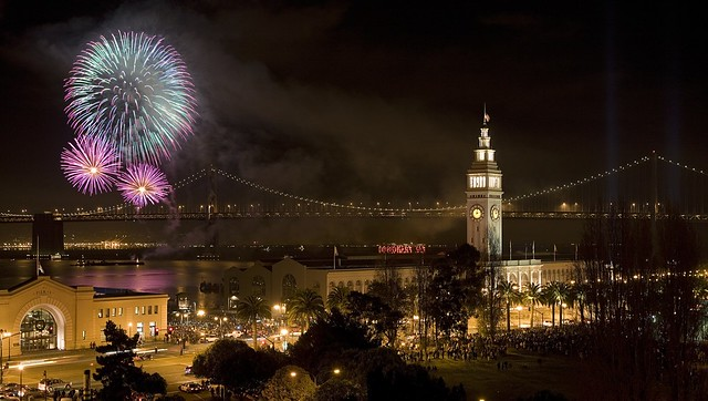 NEW YEARS IN SAN FRANCISCO from Flickr via Wylio