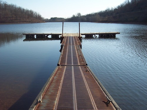 Launch Ramp on Lake Bennett - Woolly Hollow State Park