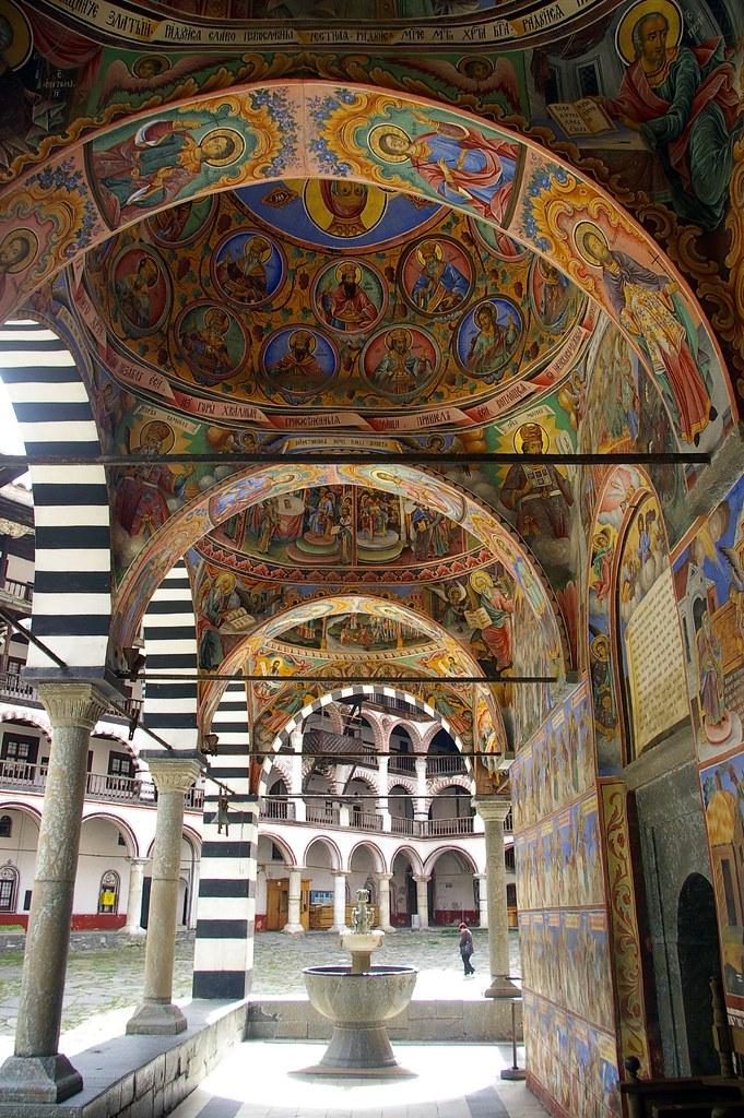 El Monasterio de Rila. Bulgaria.