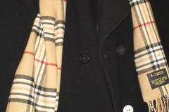 brown(0.0), kilt(0.0), jacket(0.0), pattern(1.0), textile(1.0), wool(1.0), clothing(1.0), outerwear(1.0), design(1.0), tartan(1.0), plaid(1.0),
