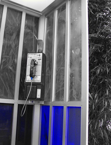 Phone Booth Blue