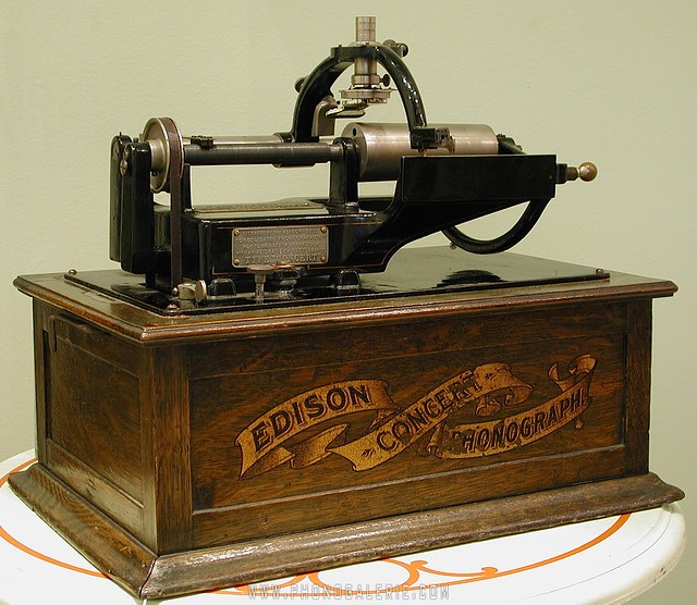 Edison concert duplex phonograph 2 flickr photo sharing for Edison home show