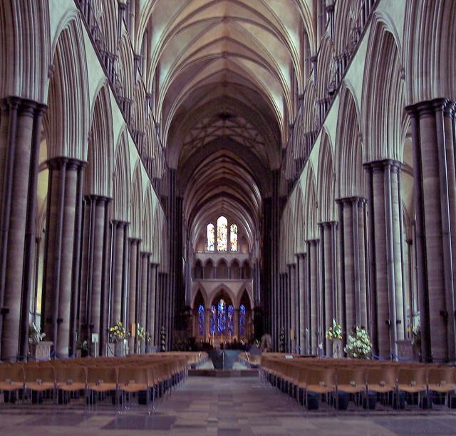 Salisbury Cathedral - Nave | Flickr - Photo Sharing!