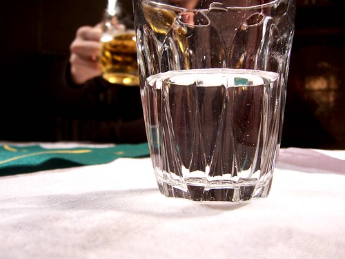 Water vs the smelly alcohol