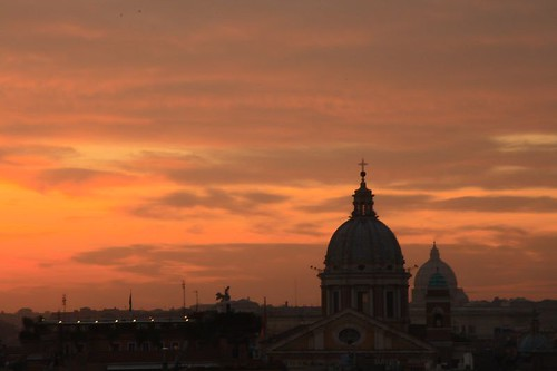 urban italy rome landscape view