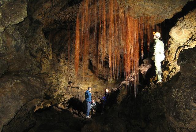 Landscape Road lava cave