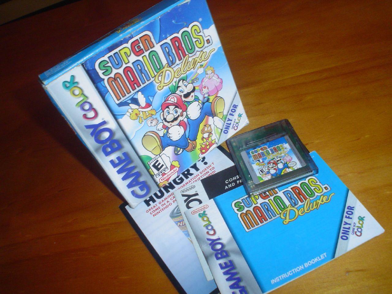 Game boy color super mario bros deluxe -  Gbc Super Mario Bros Deluxe 1999