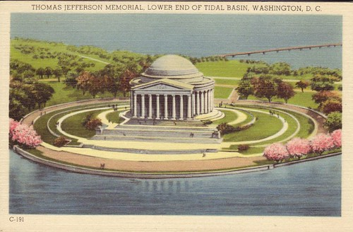 Thomas Jefferson Memorial, Lower End of Tidal Basin, Washington, D.C.
