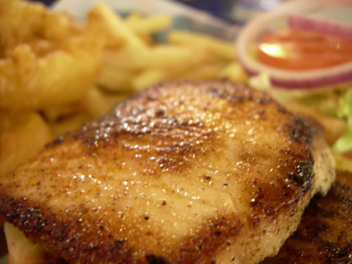 Steam Grilled Haddock