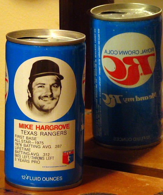 Mike Hargrove RC Cola Can