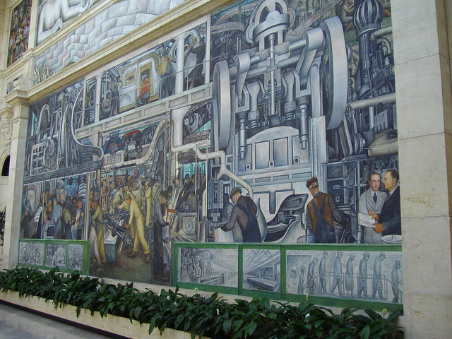 Diego rivera mural for Diego rivera dia mural