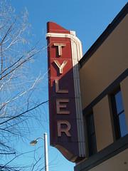 Tyler Movie Theater Sign