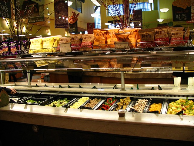 Whole foods salad bar flickr photo sharing for Food bar whole foods