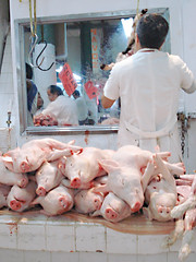 slaughterhouse, food, butcher,