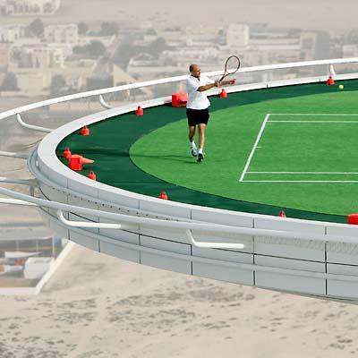 Dubai Hotels Tennis Court 5 Flickr Photo Sharing