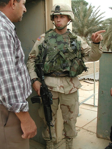 2003 army war iraq fireman baghdad kuwait saddam firefighter airborne garner 82ndairborne greenzone paratrooper cpa bremer corpsofengineers orha coalitionprovisionalauthority organizationforreconstructionandhumanitarianassistance utata:project=utatainuniform