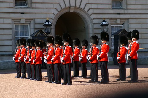 Backingham Palace 禁衛騎兵團部Horse Guards (15)