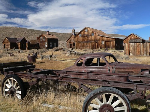 Low riders in Bodie