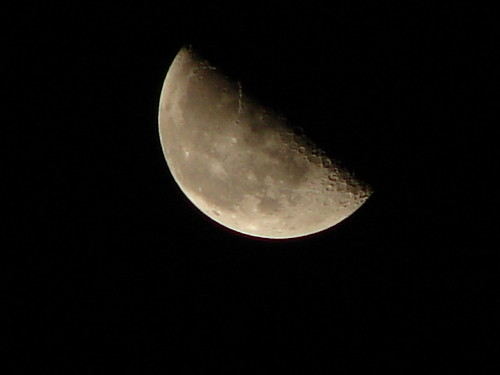 Early morining moon shot # 5