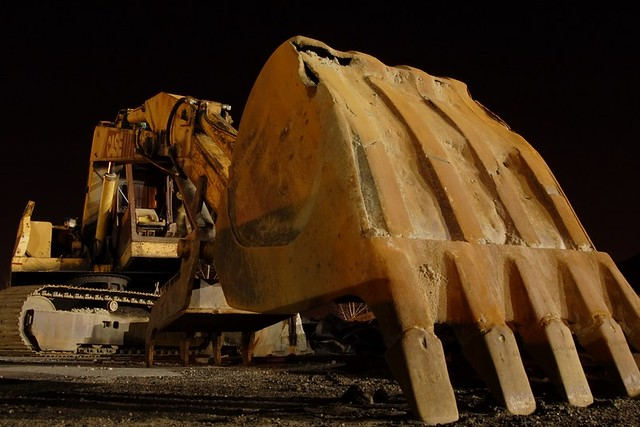 Digger At Night