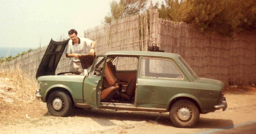 Fiat 128 - Green as a marsh