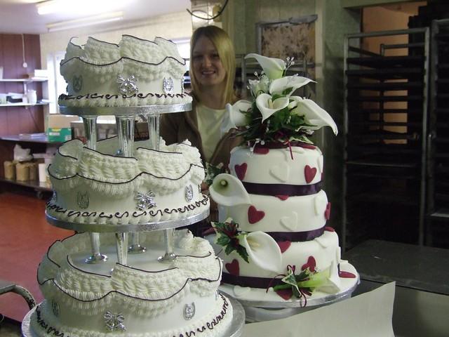 Wedding Cakes I Like The Old Type Wedding Cake Made Out Of